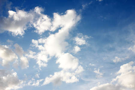 cloud solar sky as symbol of the year term season photo