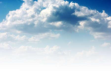 beautiful solar sky and cloud as illustration season illustration