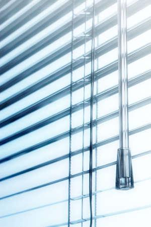 light plastic shutter on a window apartment Фото со стока - 24595856