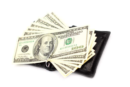 Paper notes dollars as element of the pay system