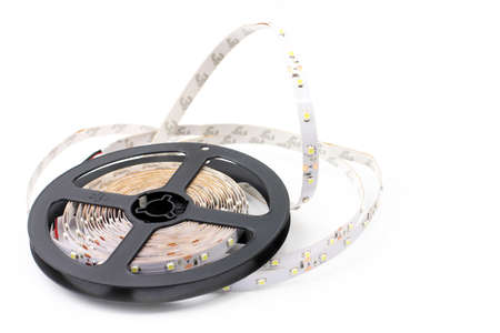 scene led strip tape convolute on the plastic spool photo