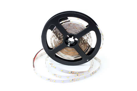 scene led strip tape convolute on the plastic photo