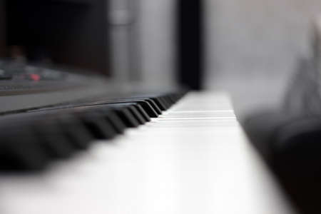 octave: keys of a piano