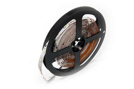 convolute: led strip tape convolute on the plastic spool