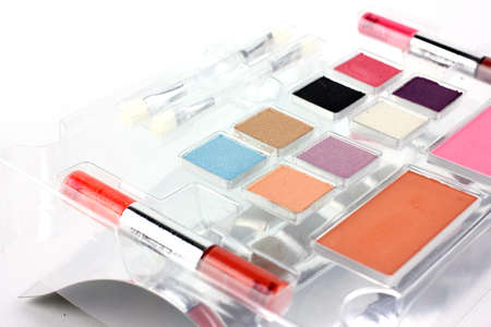 medium body: Cosmetic set for make-up tools as a stylist hairdresser