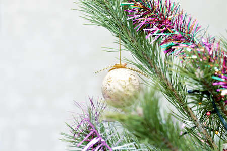 glass christmas tree decorations on festive background stock photo 61120066 - Glass Christmas Tree Decorations