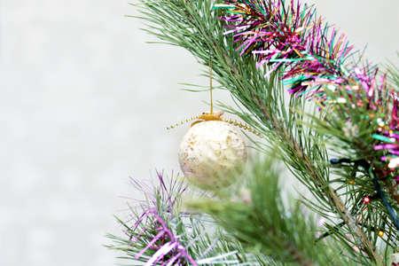 glass christmas tree decorations on festive background stock photo 61120066 - Glass Christmas Tree Decorations