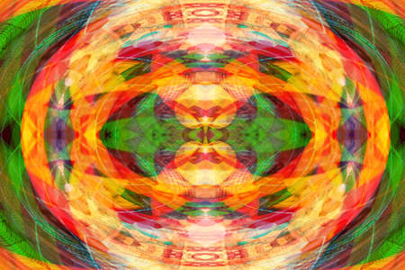 abstract background image with colorful symmetrical patterns