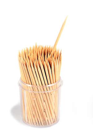 tandenstoker van de boom als een element van de gezondheid en de gezondheid Stockfoto