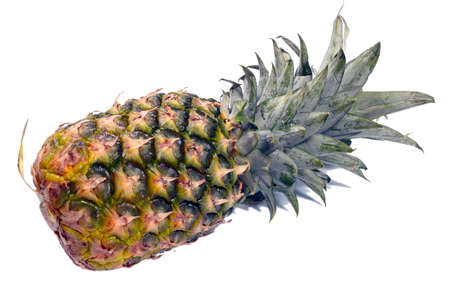 beautiful ripe pineapple tasty tropical fruit as part of a healthy meal Stock Photo