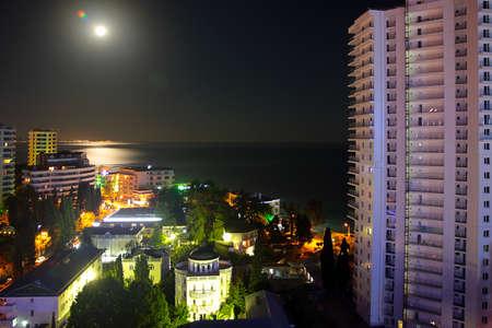 Quarters of residential buildings of the city of Sochi Krasnodar region Russia Editorial