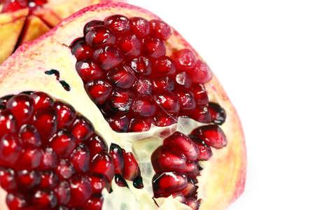 image of a delicious tropical fruit grenade