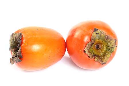 beautiful ripe fruit of tropical fruit persimmon