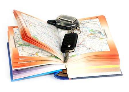 car geographic road map