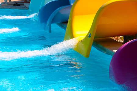 water park attraction Фото со стока - 118629268