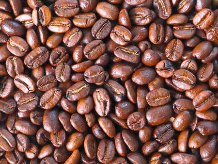 Fresh roasted coffee beans Stok Fotoğraf