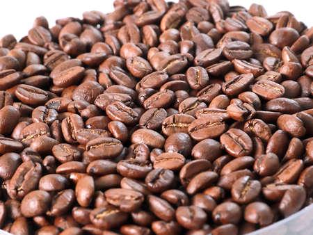 Fresh roasted coffee beans 스톡 콘텐츠