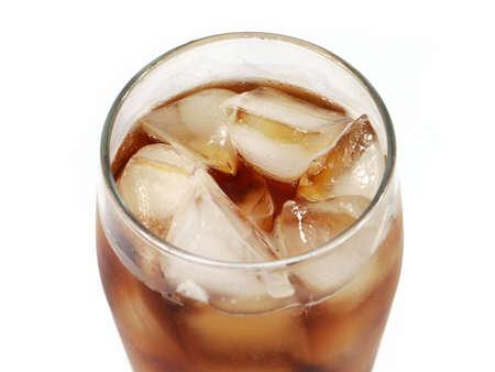 lemonade and ice
