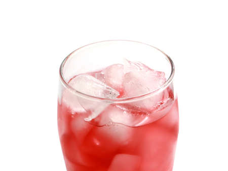 ice and juice drink Imagens