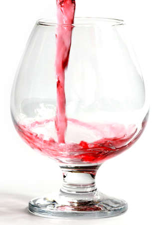 red wine flow when pouring Imagens - 122423222