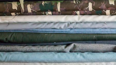 fabric texture: Fabric texture. Stock Photo