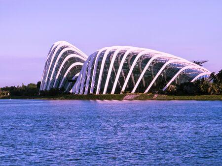 Singapore building ,business city