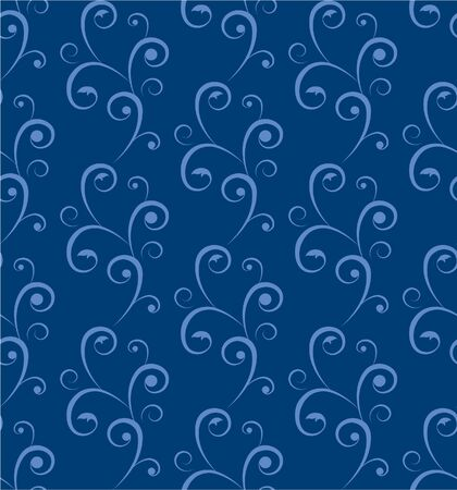 tillable: seamless abstract background  tendrils Illustration