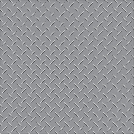metal texture: vector illustration of the metal plate Illustration