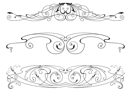 set of the design elements Stock Vector - 11998196