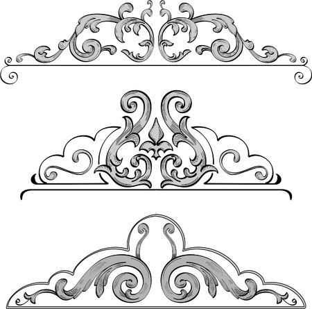 Design-Elemente für schöne Bilder Standard-Bild - 11998257