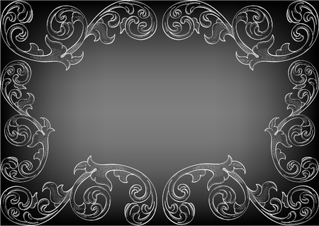 Nice ornate card for the best one Vector