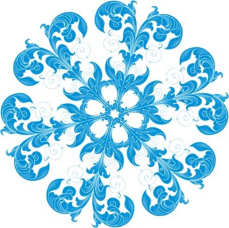 snowflacke: snowflacke Illustration