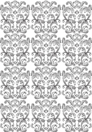 Seamless pattern of nice flowers Vector