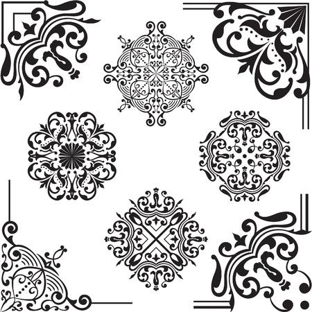 Set Elemente für das Design auf weiß Standard-Bild - 14335765