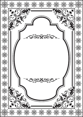 Classic border the best one Stock Vector - 14335860