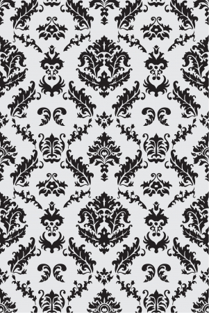 Damask seamless pattern for the nice work Vector