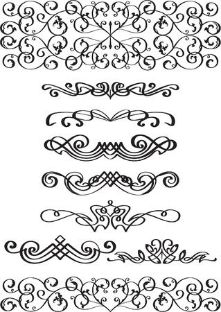 Schöne Teiler Set isoliert auf weiß Standard-Bild - 14335770