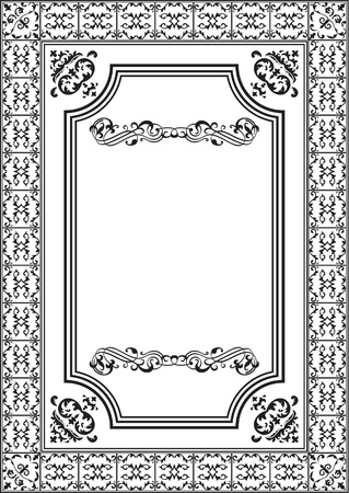 Nice elements for frame from artist