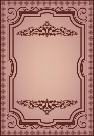 nb: Vintage frame for the good work