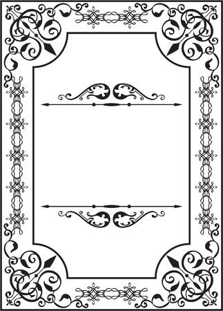 interweaving: Scheda perfetta in stile classico