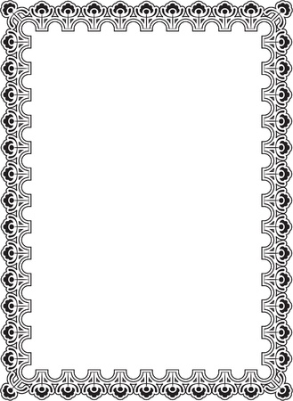 The picture isolated on white Vector