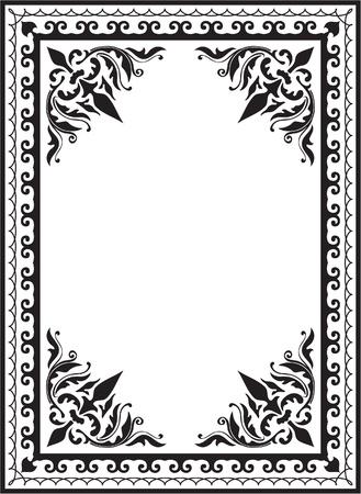 stílus: A kép, elszigetelt, fehér Illusztráció