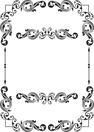 mirrored: The picture isolated on white