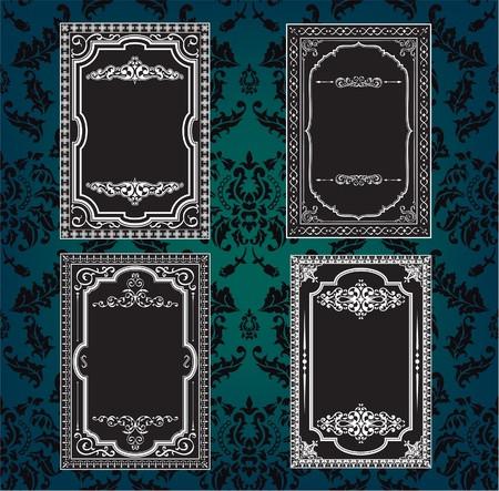 baroque frame: The set of exelent borders