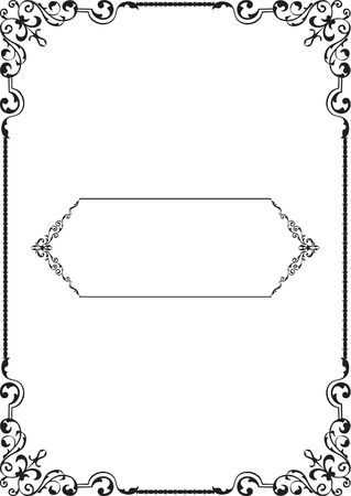 gothic revival style: Perfect border is on white