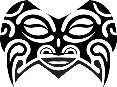Mask isolated on white Vector