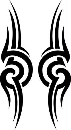 dise�os: La tribu est� aislado en blanco