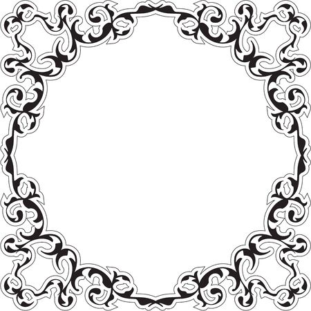 Art Renaissance Nice Frame Isolated On White Royalty Free Cliparts ...