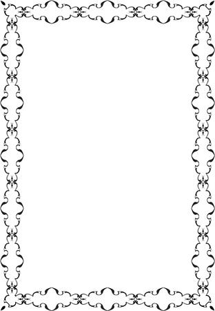 adornment: The adornment decor art frame is on white