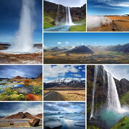 Impressionen von Island Standard-Bild - 15059470